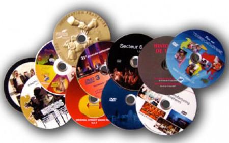 Impression sur DVD